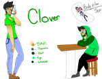 Clover's revamped ref by Illiterate-Swine