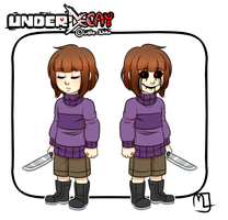 Underdecay- Frisk/Chara by Little-Noko