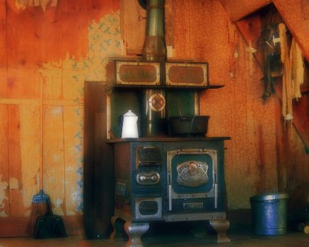 Old west stove by greenunderground