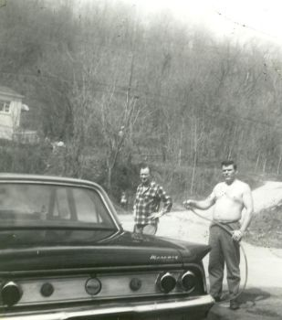 Dad Washing mercury by Coffin-maker