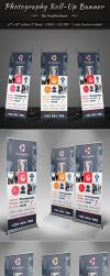 Photography Roll-Up Banner by graphicshaper2016