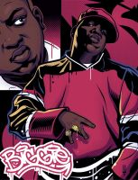 Biggie 2 Color by LawrenceChristmas