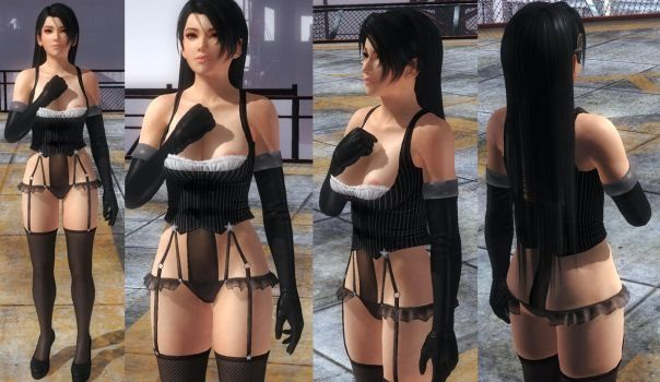 Momiji Corset Straps by funnybunny666