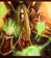 Warcraft 3- Kael'thas by May-dari