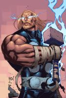 Thor by MAD and Ben Jones by Ross-A-Campbell