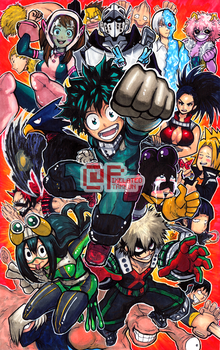 Class 1-A by Pixelated-Takkun