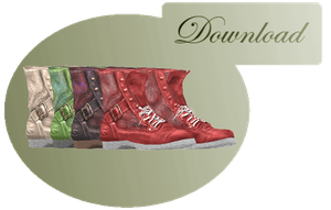 [MMD] BOOTS [+DL] by Sims3Ripper
