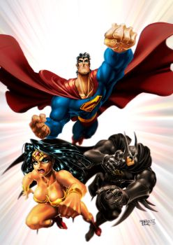 DC characters by MarioPons