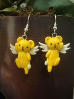 Kero-chan Earrings by KittyAzura