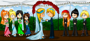 BloomXBlizzard wedding ((CONTEST ENTRY)) by X-Hopeless-Kitten-X
