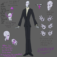 Dadster Reference sheet by Gingler