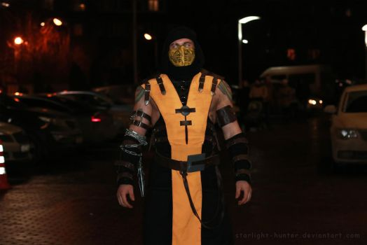 Scorpion MK cosplay by Starlight-hunter