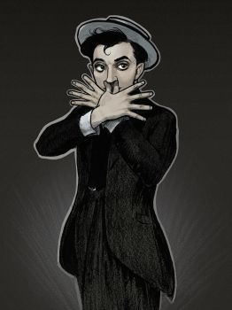 Buster Keaton: The High Sign II by drawlequin