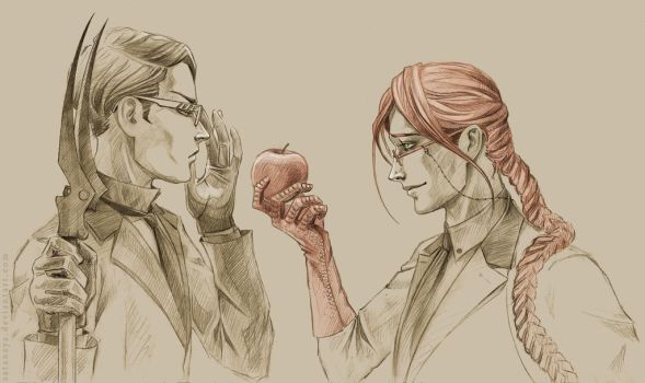 Will and Grell by satanaya