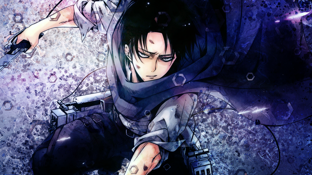 Shingeki no Kyojin Wallpaper - Levi 2 (1080p) by umi-no-mizu