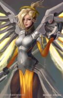 Mercy 2 - Overwatch by castcuraga