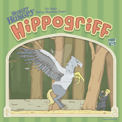 Hungry Hungry Hippogriff by JaffaCakeLover
