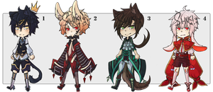 Adopts Auction: #01 [CLOSED] by Shikiftw