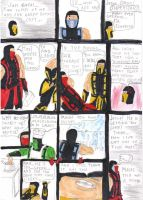 Mortal Kombat Comic 3 by SeSerkku