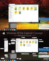 V2 Windows 10 File Explorer Concept (HD) by dAKirby309