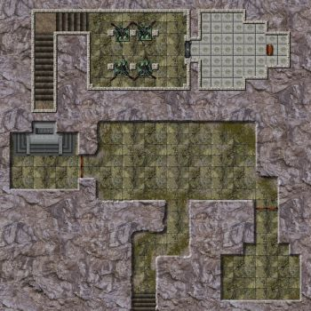 The Forgotten Tomb - Dungeon by Lanerso