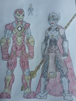 Marvel Legacy - Iron Man and Valkyrie by Zigwolf