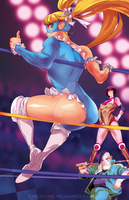 Street Fighter V-R.Mika by HeavyMetalHanzo