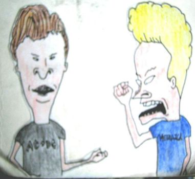 Beavis and Butthead by fragrantfeces