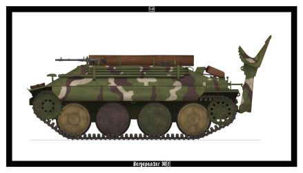 Bergepanzer 38(t) by PsykoHilly