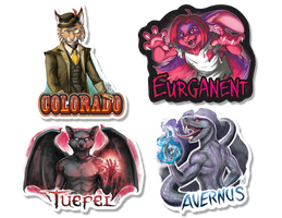 Half Body Badges - 2017 by GoldenDruid