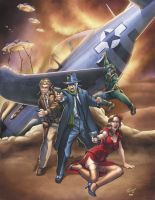 Warbirds of Mars - Stories of the Fight by DocRedfield