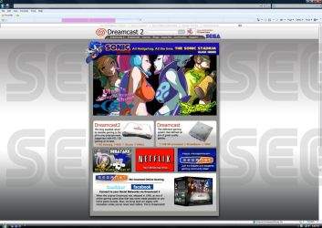 Dreamcast 2 Website Preview by sonicadventurer