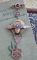 STEAMPUNK jewelry collection by NobleStudiosLtd