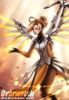 Overwatch - Mercy by monkeyyan