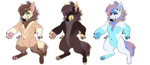 Canine adoptables-Flat sale (Open 1/3) by LysAdopts