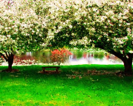 Spring Pond by coolwindsg