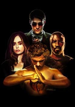 Defenders Rhapsody by sophiecowdrey