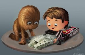 The Magic of Star Wars Toys by JeffVictor