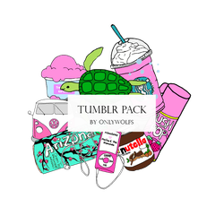 Tumblr Pack / Pack Tumblr [Pack #5] by OnlyWolfs