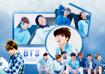 PNG PACK: BTS #18 by Hallyumi