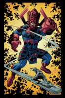 Galactus in Livin' Color by LostonWallace