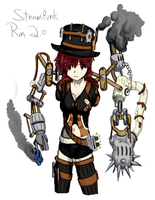 Steampunk Rin 2.0 (Colored by TheDwarfLard) by Ryder-Sechrest