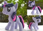 Twilight Sparkle Plush by dollphinwing