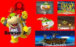 Bowser Jr SSB Moveset by Hyrule64