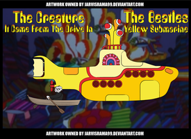 THE BEATLES' YELLOW SUBMARINE REVIEW TCARD by Jarvisrama99