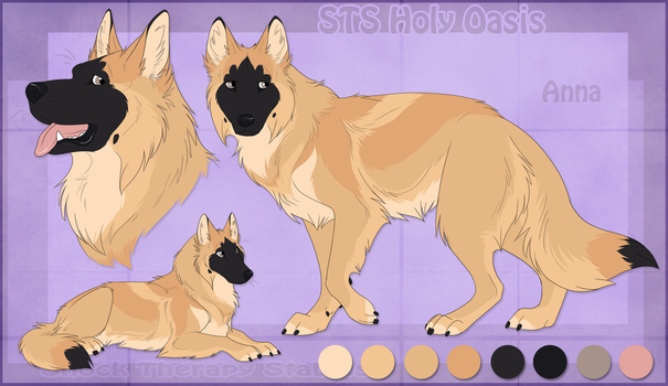 STS Dog - Anna by ShockTherapyStables
