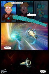 Final Space comic strip (Page 14)