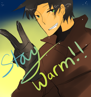 stay warm folks by kyunyo