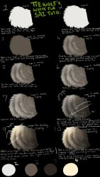 Tiewolf's White Fur SAI Tutorial by TieWolf