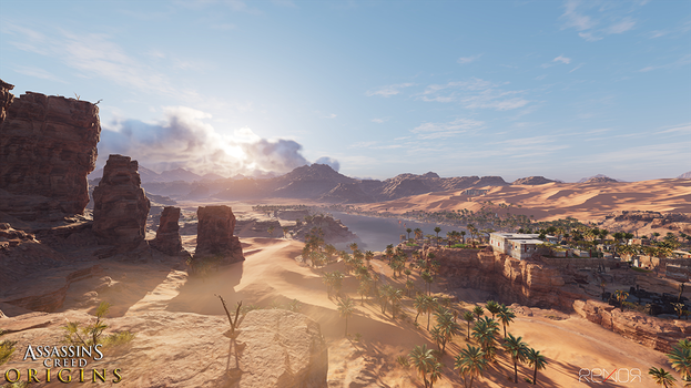 Assassin's Creed Origins - Siwa Oasis by reznor666